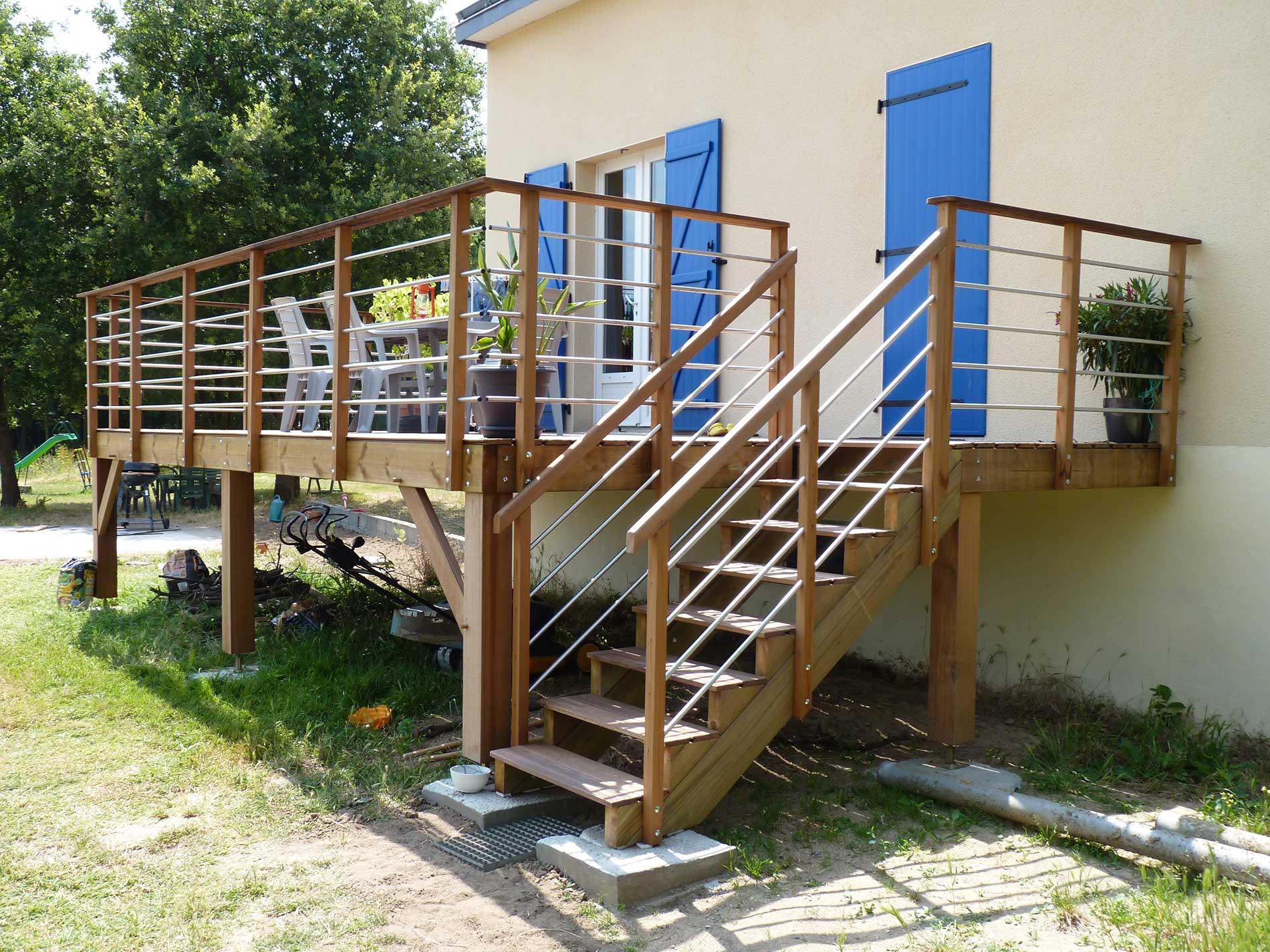 Image de Terrasse en bois